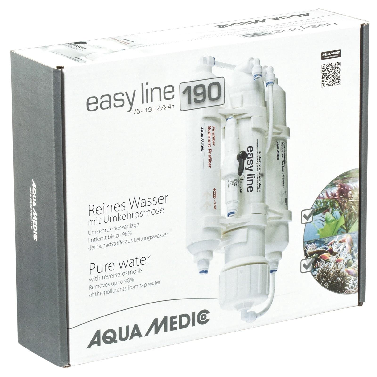 AQUA MEDIC easy line 190 osmoseur pour la production de 75 à 190 L par jour d\'eau osmosée