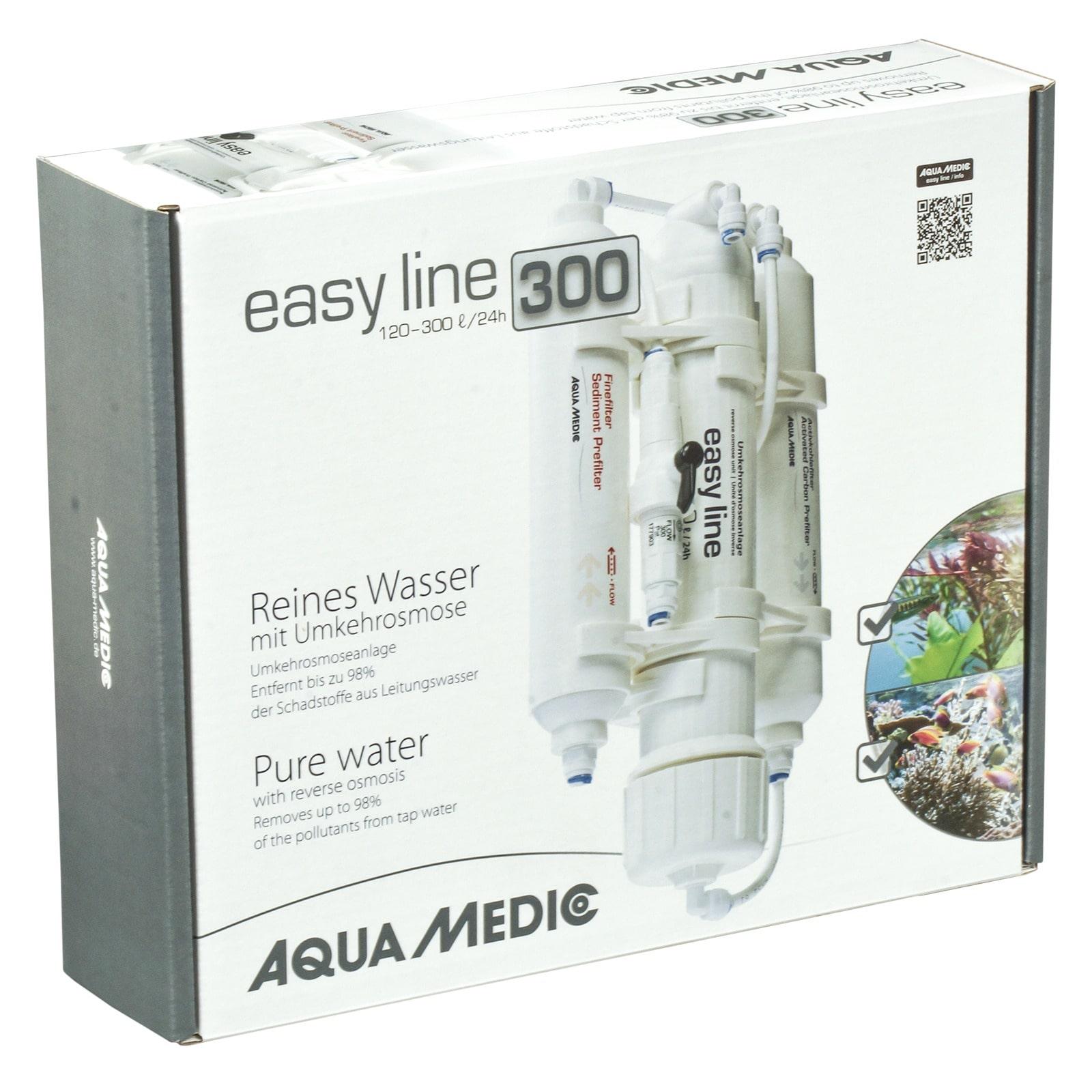 AQUA MEDIC easy line 300 osmoseur pour la production de 120 à 300 L par jour d\'eau osmosée