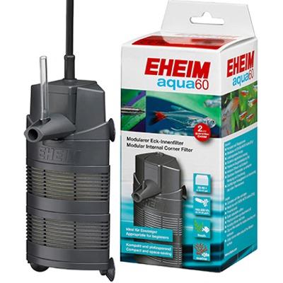 EHEIM Aqua 60 filtre d\'angle interne multifonction 300 L/h pour aquarium de 30 à 60 L