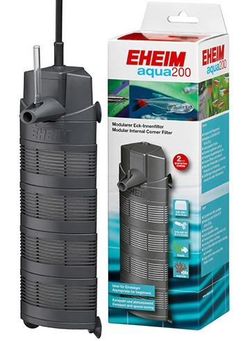 EHEIM Aqua 200 filtre d\'angle interne multifonction 440 L/h pour aquarium de 100 à 200 L