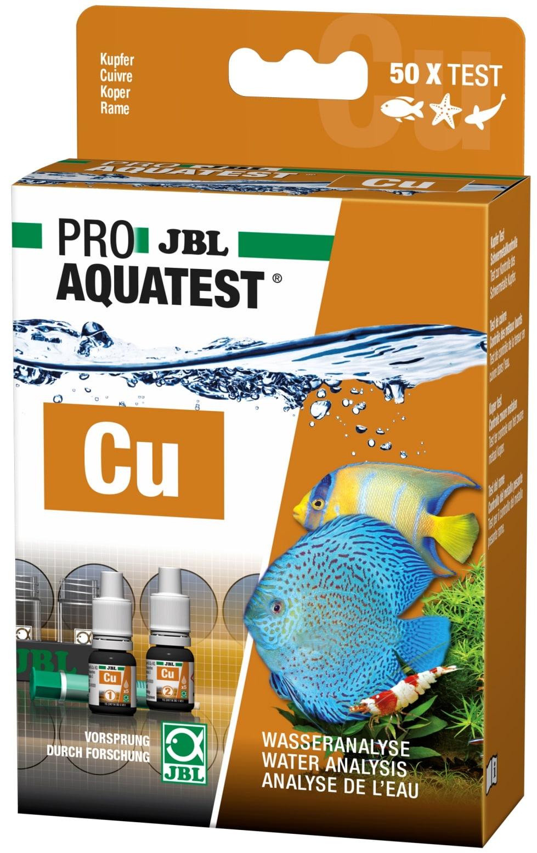 JBL ProAquaTest Cu test Cuivre pour aquarium d\'eau douce, eau de mer et bassin
