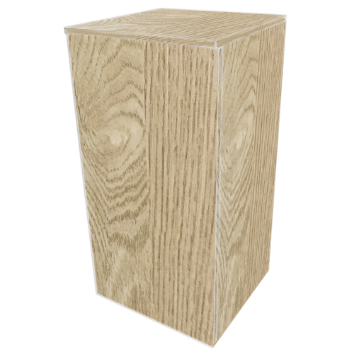 DUPLA Meuble Cube Stand 80 Chêne Clair pour aquarium jusqu\'à 45 x 45 cm