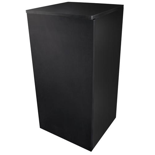 DUPLA Meuble Cube Stand 80 Noir pour aquarium jusqu\'à 40 x 40 cm