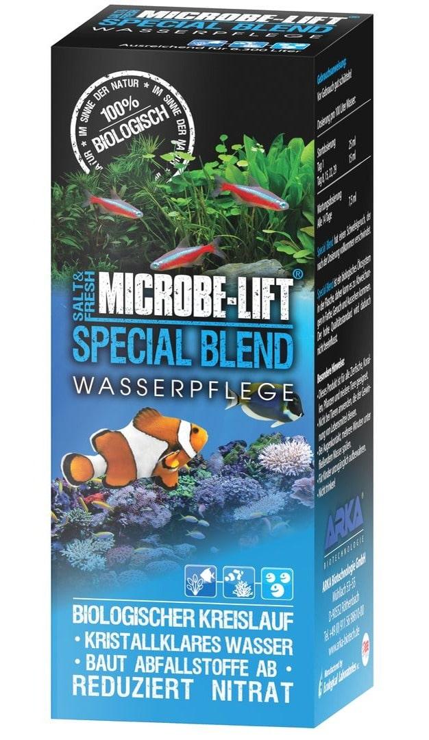 MICROBE-LIFT Special Blend 251 ml bactéries pour stabiliser le cycle biologique en aquarium d\'eau douce et marin