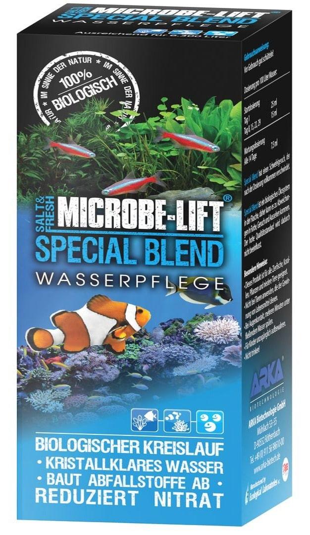 MICROBE-LIFT Special Blend 473 ml bactéries pour stabiliser le cycle biologique en aquarium d\'eau douce et marin