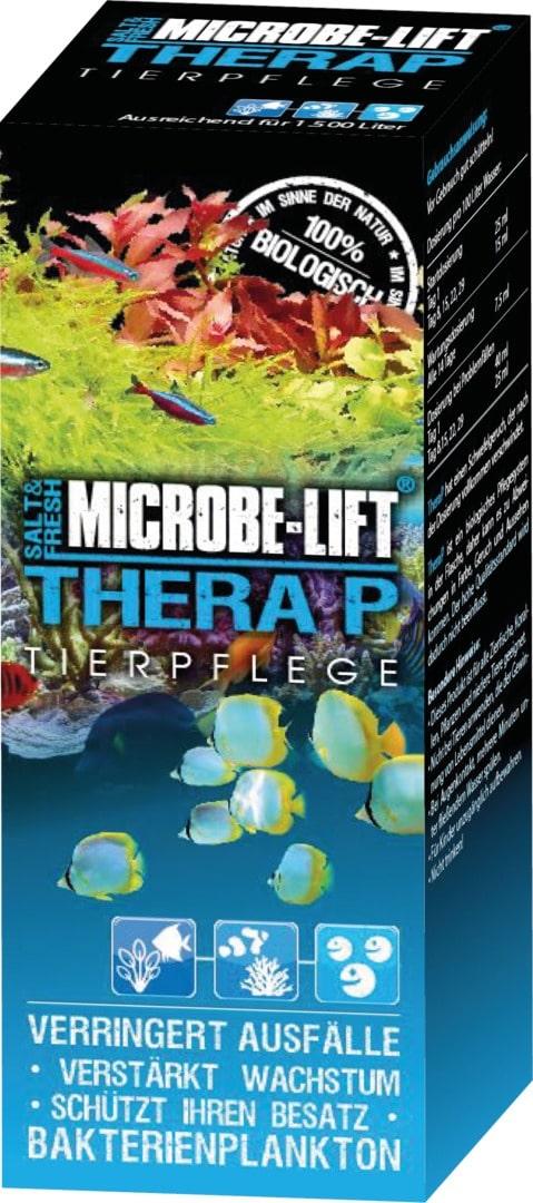 MICROBE-LIFT TheraP 251 ml bactéries probiotiques pour aquarium d\'eau de mer et d\'eau douce