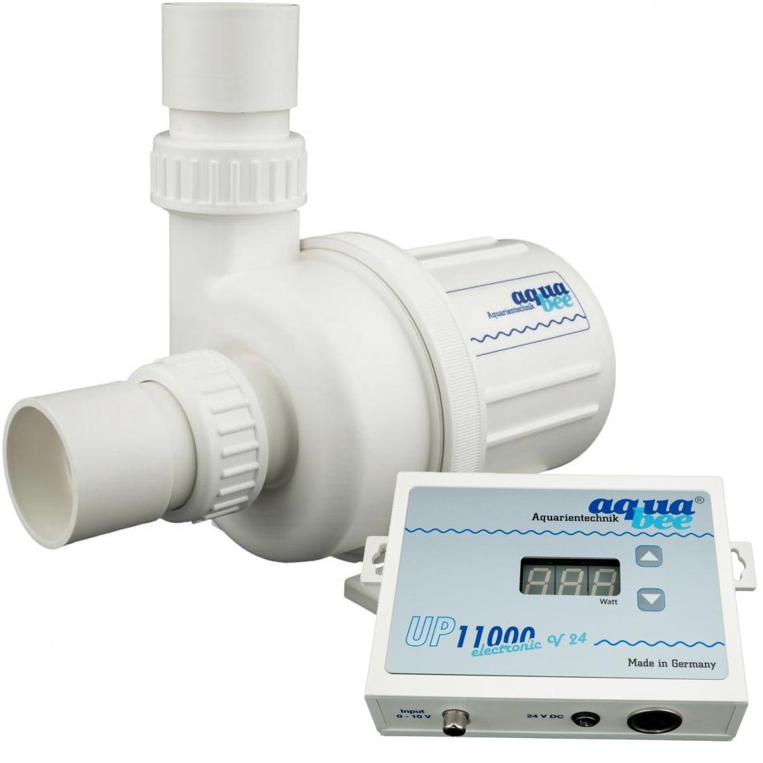 AQUABEE UP 11000e 24V pompe d\'aquarium 11000 L/h fonctionnement basse tension avec contrôleur électronique