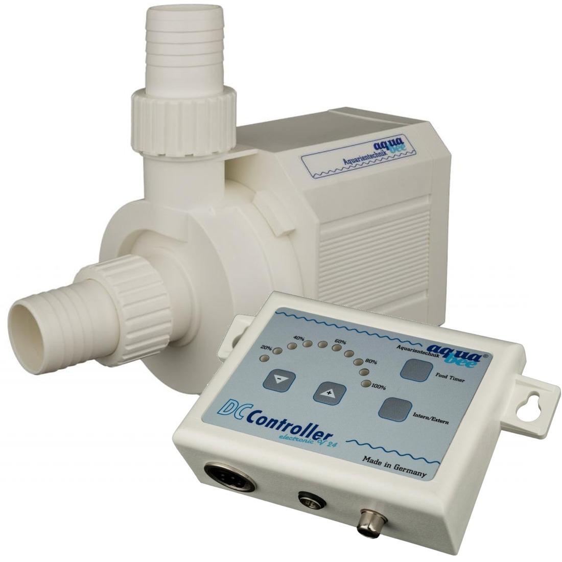 AQUABEE UP 5000e 24V pompe d\'aquarium 5000 L/h fonctionnement basse tension avec contrôleur électronique