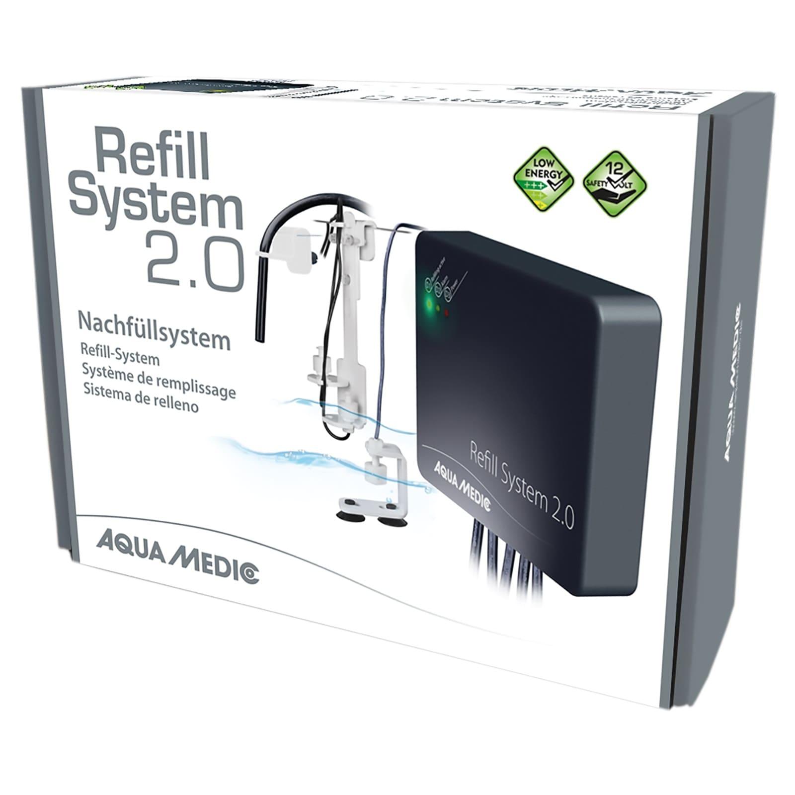 AQUA MEDIC Refill System 2.0 osmolateur complet pour compensation automatique de l\'eau évaporée