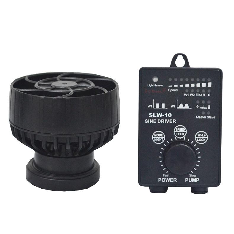 JEBAO SLW-10 pompe de brassage à ondes sinusoïdales avec flux extra-large jusqu\'à 4000 L/h et contrôleur Wireless pour aquarium