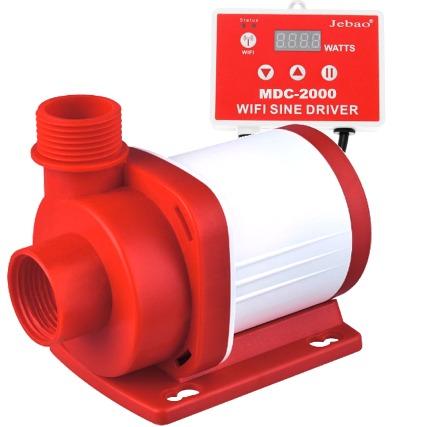 JEBAO MDC-2000 pompe universelle avec contrôleur WiFi avec débit réglable jusqu\'à 2000 L/h