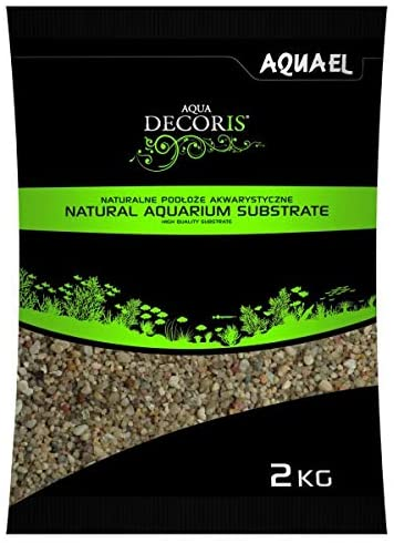 AQUAEL AquaDecoris Quartz Standard 2 Kg gravier 1,4 à 2,5 mm pour aquarium