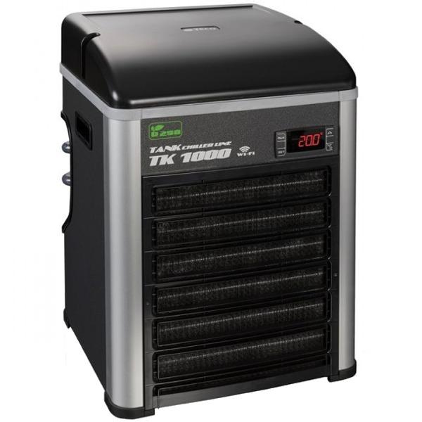 TECO TK1000 G2 groupe froid refroidisseur d\'eau avec gaz éco R290 et Wi-Fi pour aquarium jusqu\'à 1000 L