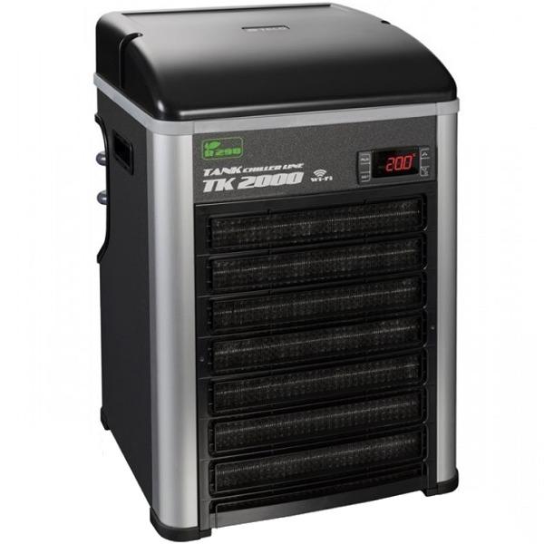 TECO TK2000 G2 groupe froid refroidisseur d\'eau avec gaz éco R290 et Wi-Fi pour aquarium jusqu\'à 2000 L