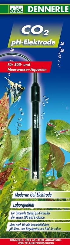 DENNERLE Électrode pH avec prise BNC pour contrôleur CO2, pH et pH-mètre