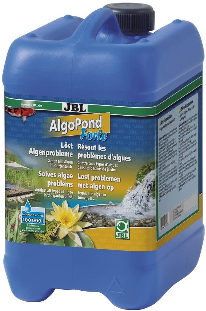 JBL AlgoPond Forte 5 L produit anti-algues filamenteuses pour bassin jusqu\'à 100000 L