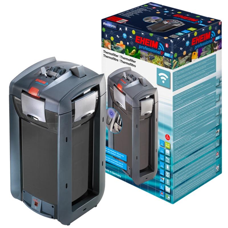 EHEIM 2178 professionel 5e 600T filtre externe électronique avec WiFi et chauffage intégré pour aquarium jusqu\'à 600L