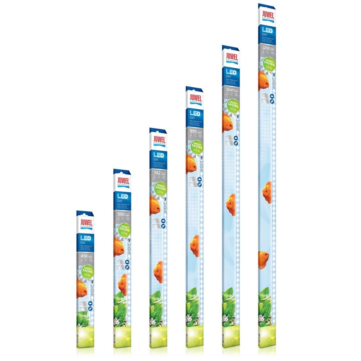 JUWEL Day LED lumière du jour uniquement pour réglette Multilux LED. 6 longueurs aux choix