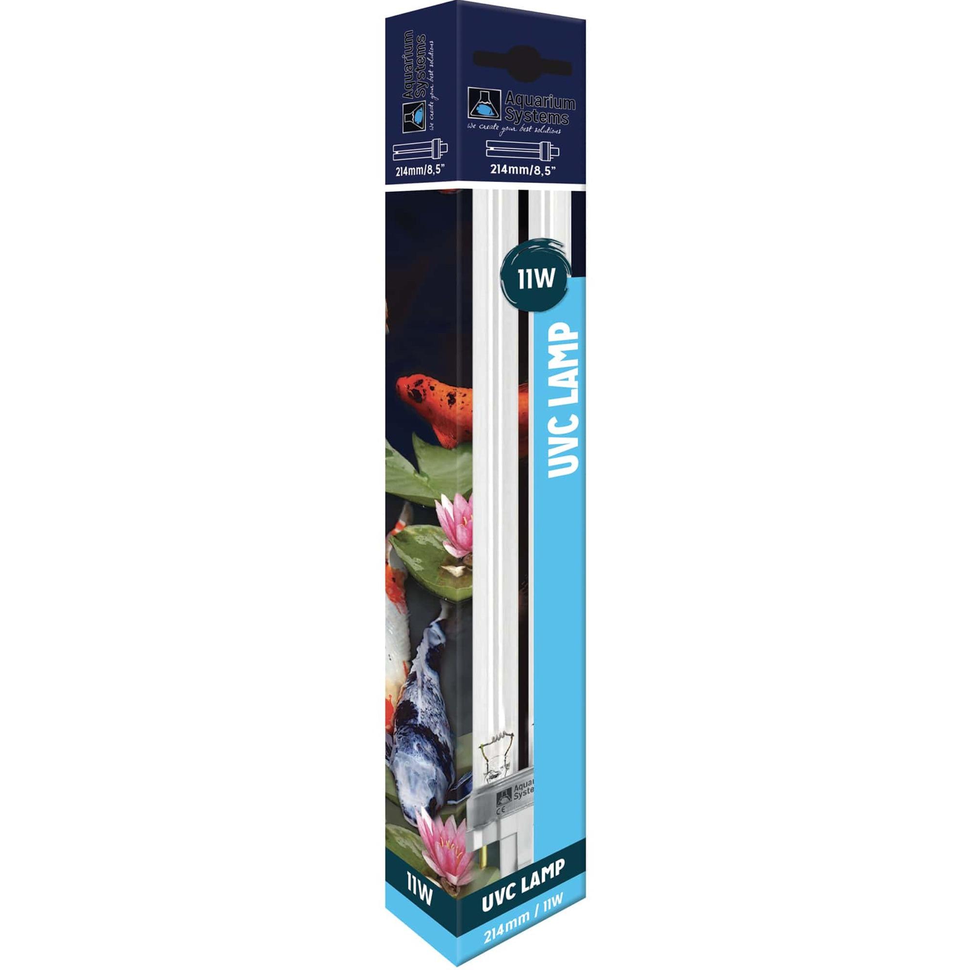 AQUARIUM SYSTEMS UVC Lamp 11W culot G23 ampoule compacte UV-C pour stérilisateur