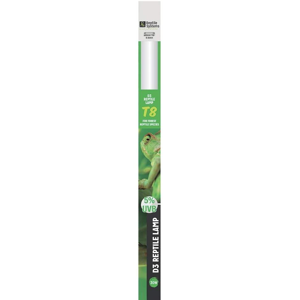 REPTILE SYSTEMS D3 Specialist UVB 5% tube T8 30W 90 cm pour espèces tropicales et sub-tropicales