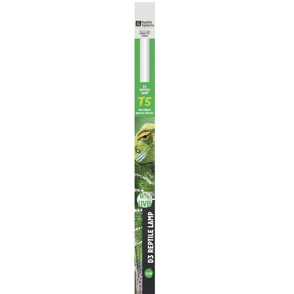 REPTILE SYSTEMS D3 Pro UVB 6% tube T5 24W 55 cm pour espèces tropicales et sub-tropicales
