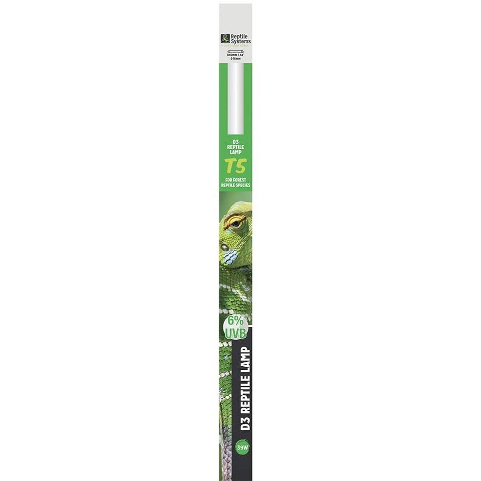 REPTILE SYSTEMS D3 Pro UVB 6% tube T5 39W 85 cm pour espèces tropicales et sub-tropicales