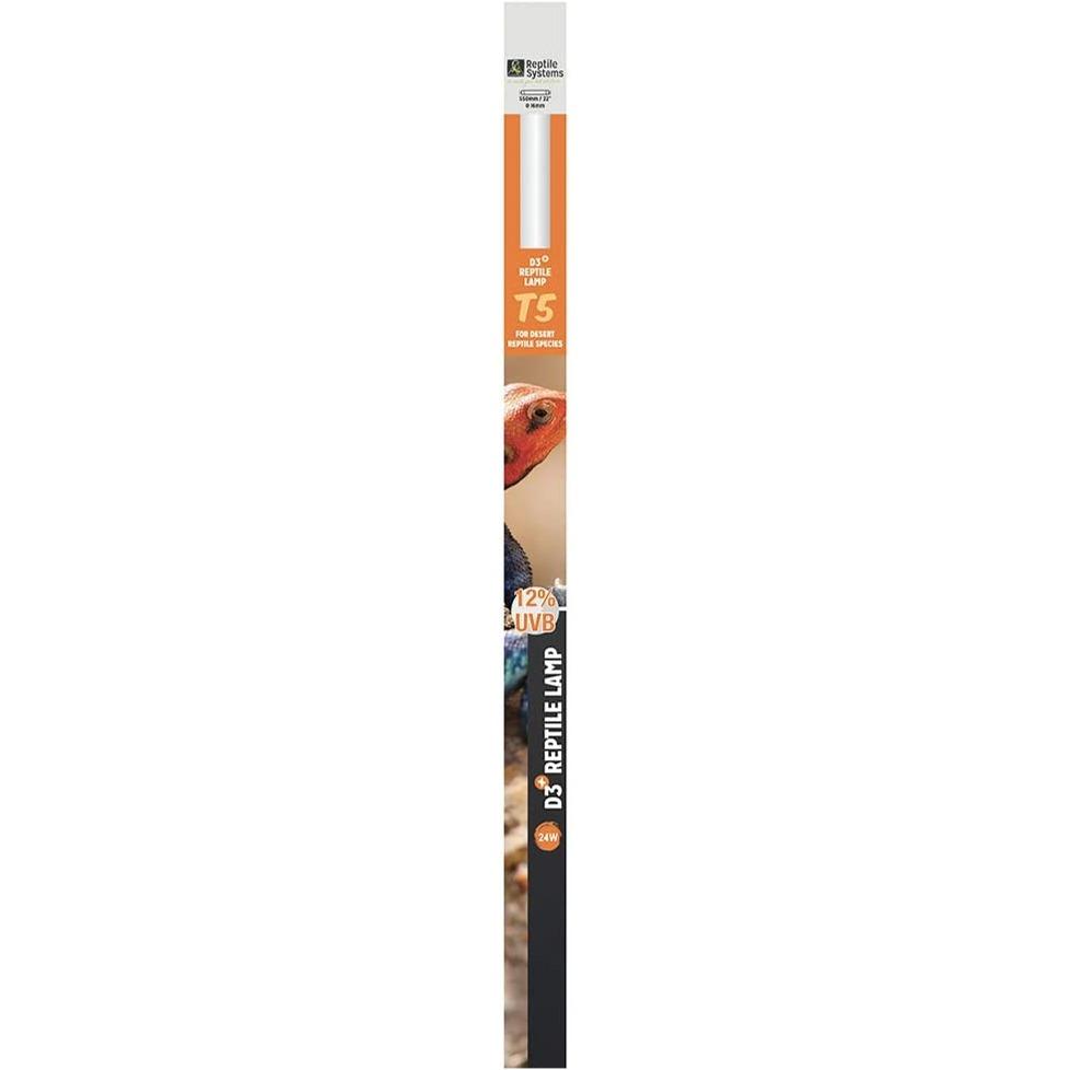 REPTILE SYSTEMS D3 Pro UVB 12% tube T5 24W 55 cm pour espèces désertiques