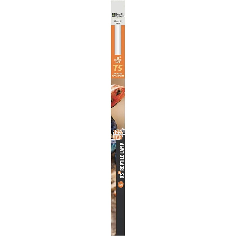 REPTILE SYSTEMS D3 Pro UVB 12% tube T5 39W 85 cm pour espèces désertiques