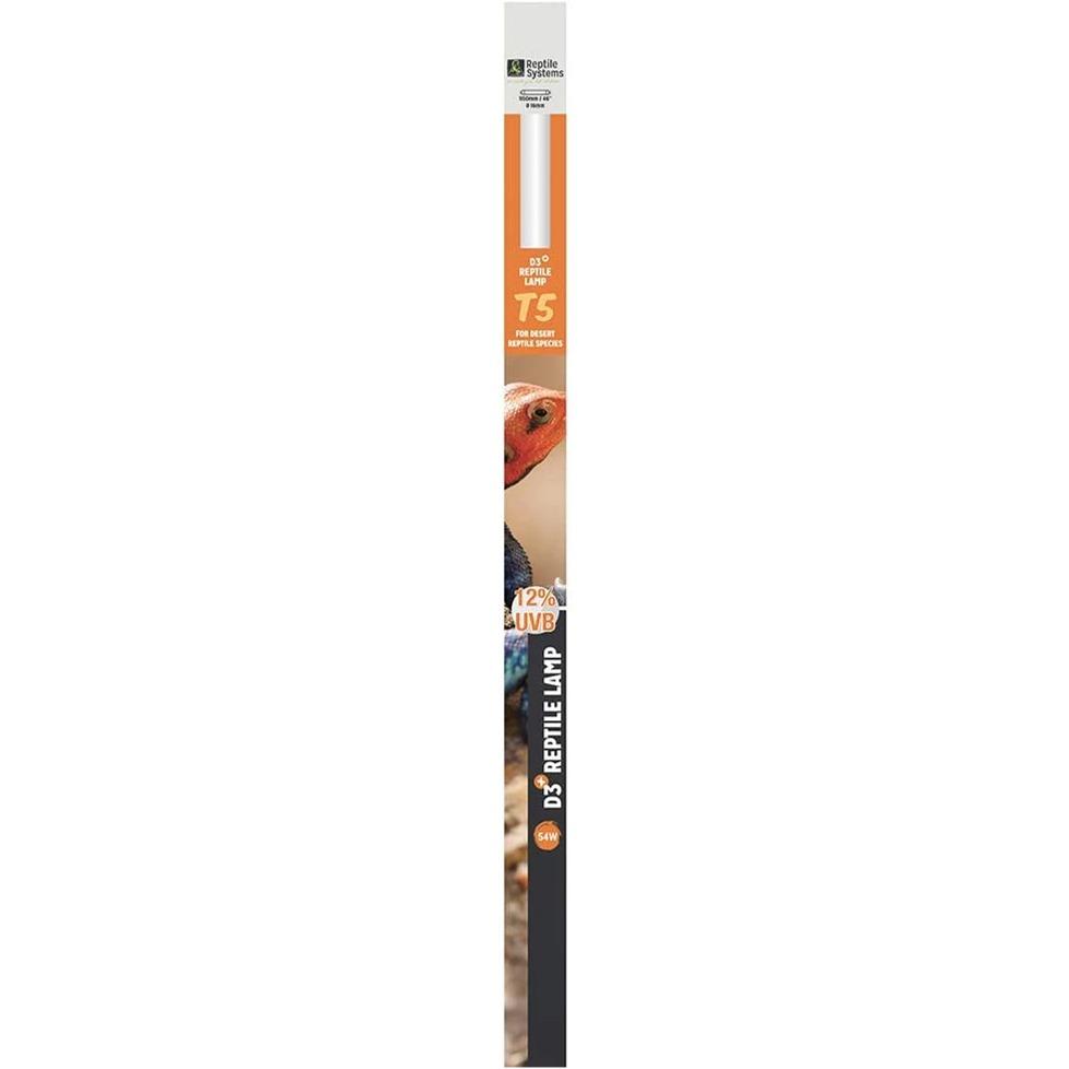 REPTILE SYSTEMS D3 Pro UVB 12% tube T5 54W 115 cm pour espèces désertiques