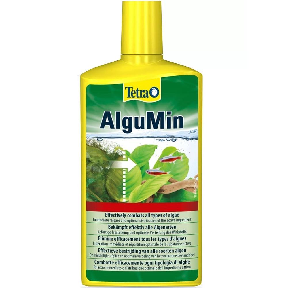 TETRA AlguMin 500 ml élimine en toute simplicité tous les mauvaises algues de l\'aquarium d\'eau douce
