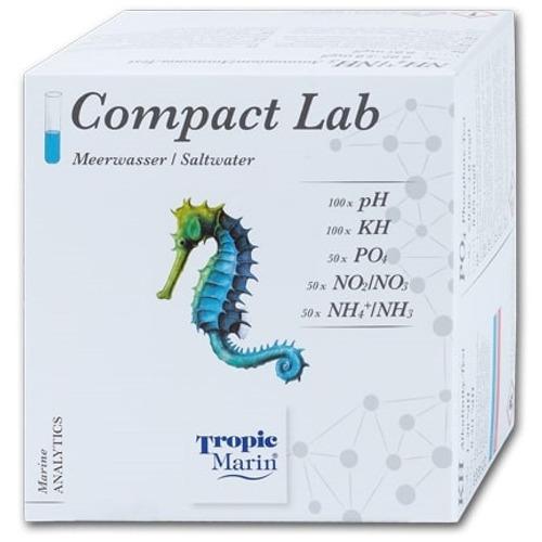 TROPIC MARIN Compact Lab de tests PH, KH, PO4, NO2, NO3, NH3, NH4