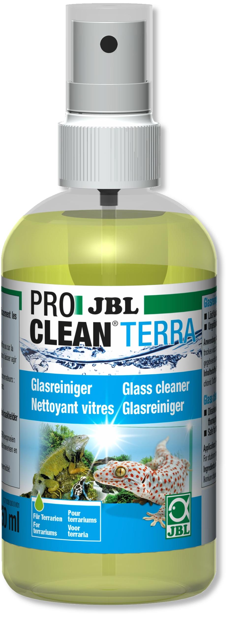 JBL ProClean Terra nettoyant vitres pour terrarium sans danger pour les animaux