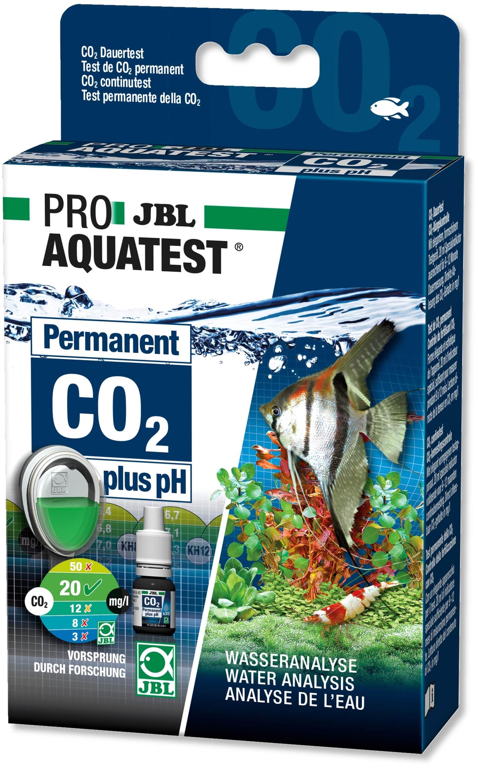 JBL ProAquaTest CO2 et pH Permanent pour aquarium d\'eau douce