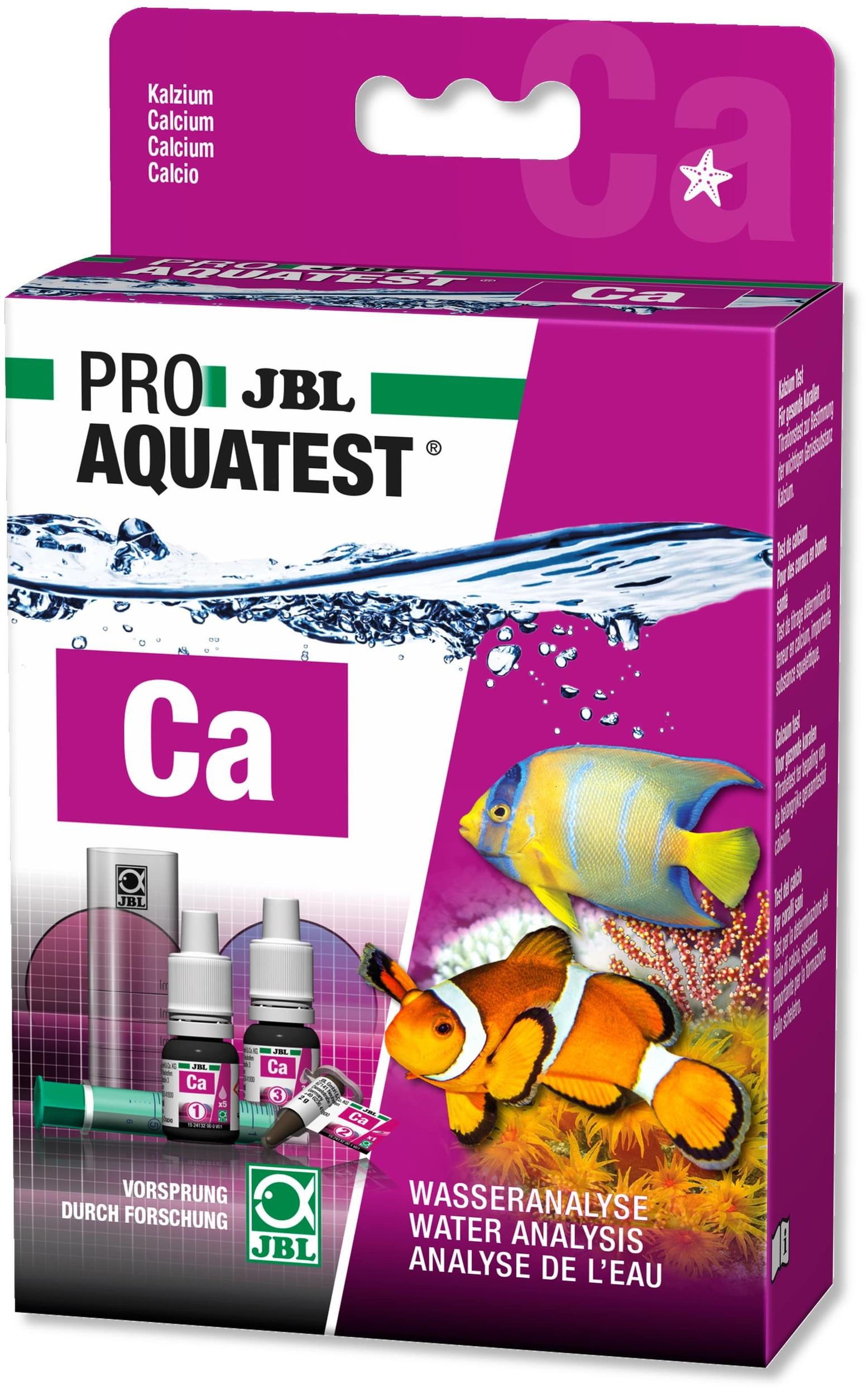 JBL ProAquaTest Ca test Calcium pour aquarium d\'eau de mer