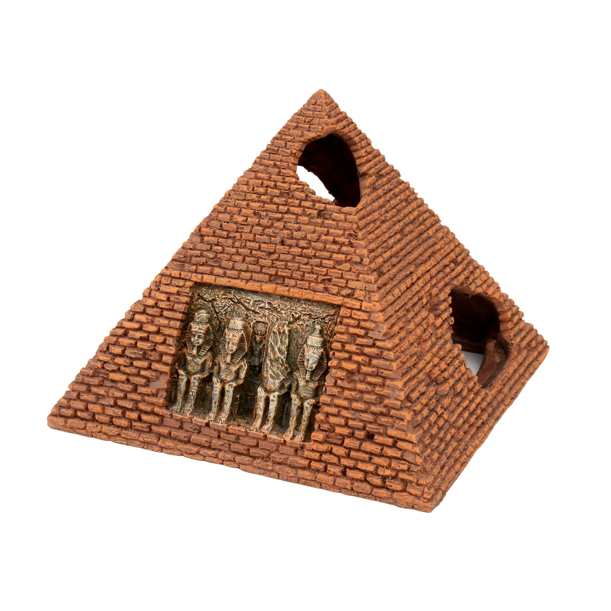 AQUAVIE Egypte Pyramide décoration aquarium 16 x 16 x 12,5 cm