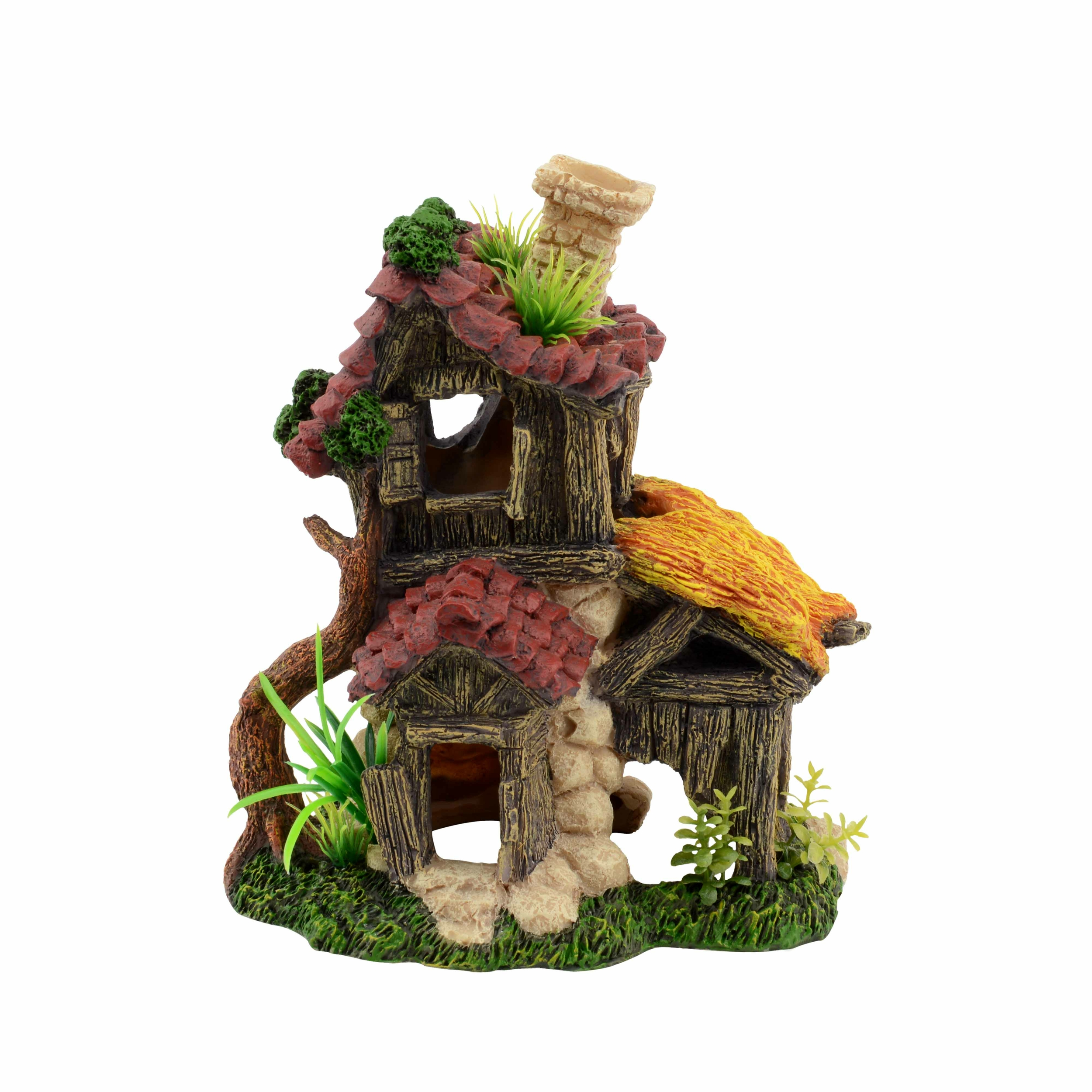 AQUAVIE Habitat Troll House décoration aquarium 14,5 x 12 x 17,5 cm