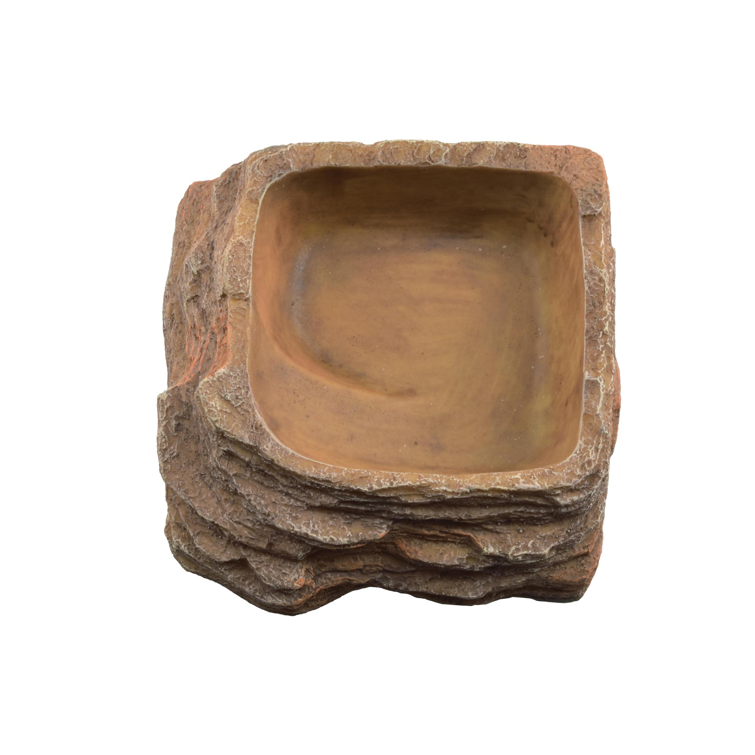 AQUAVIE Terra Abreuvoir Roche pour terrarium 14 x 14 x 5 cm