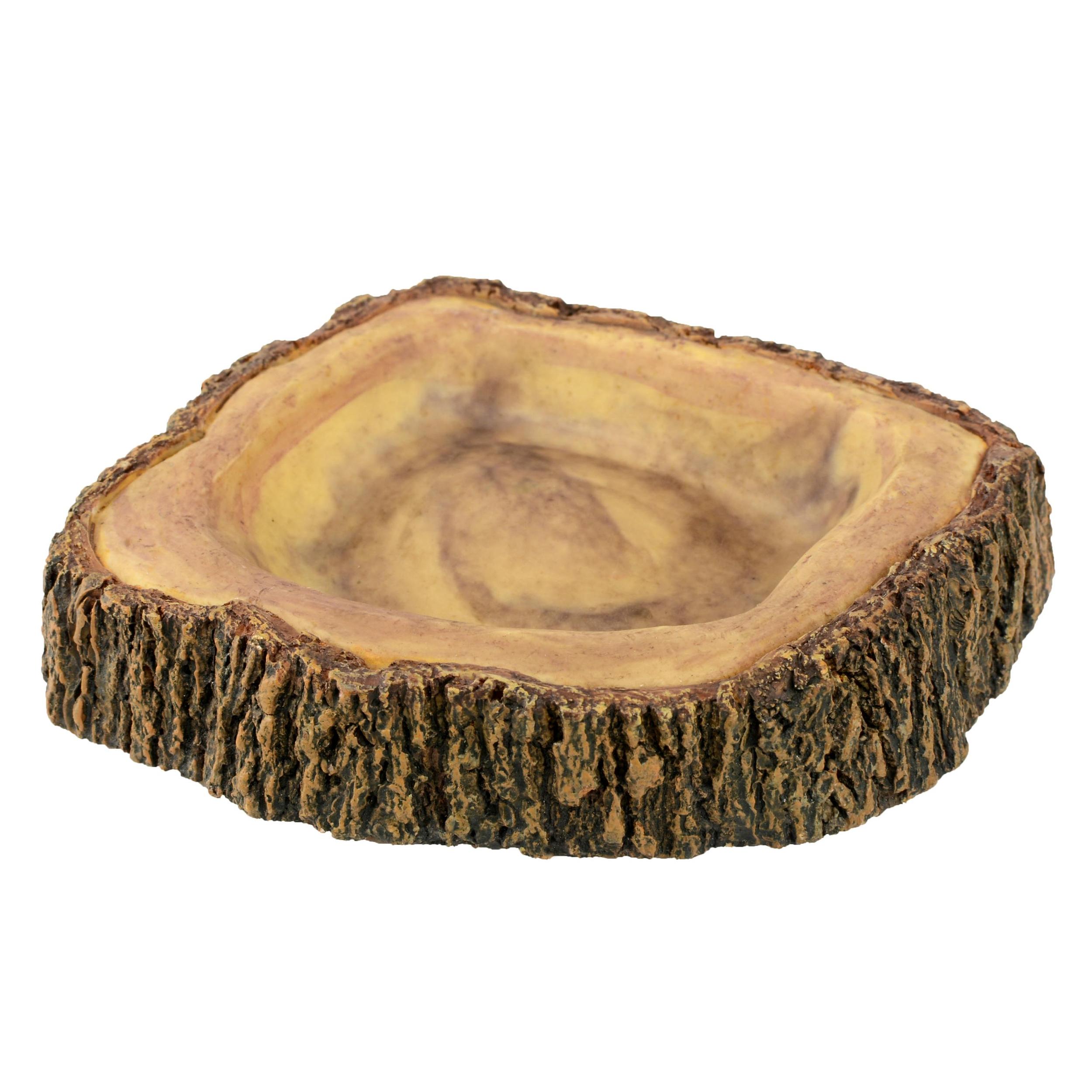 AQUAVIE Terra Abreuvoir Bois pour terrarium 11,8 x 9,2 x 2,5 cm
