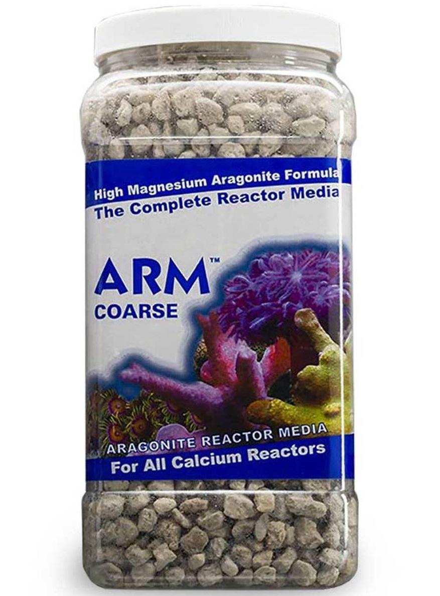 CARIBSEA ARM Coarse 3,80L média d\'Aragonite moyen 8/12 mm pour réacteurs à calcium