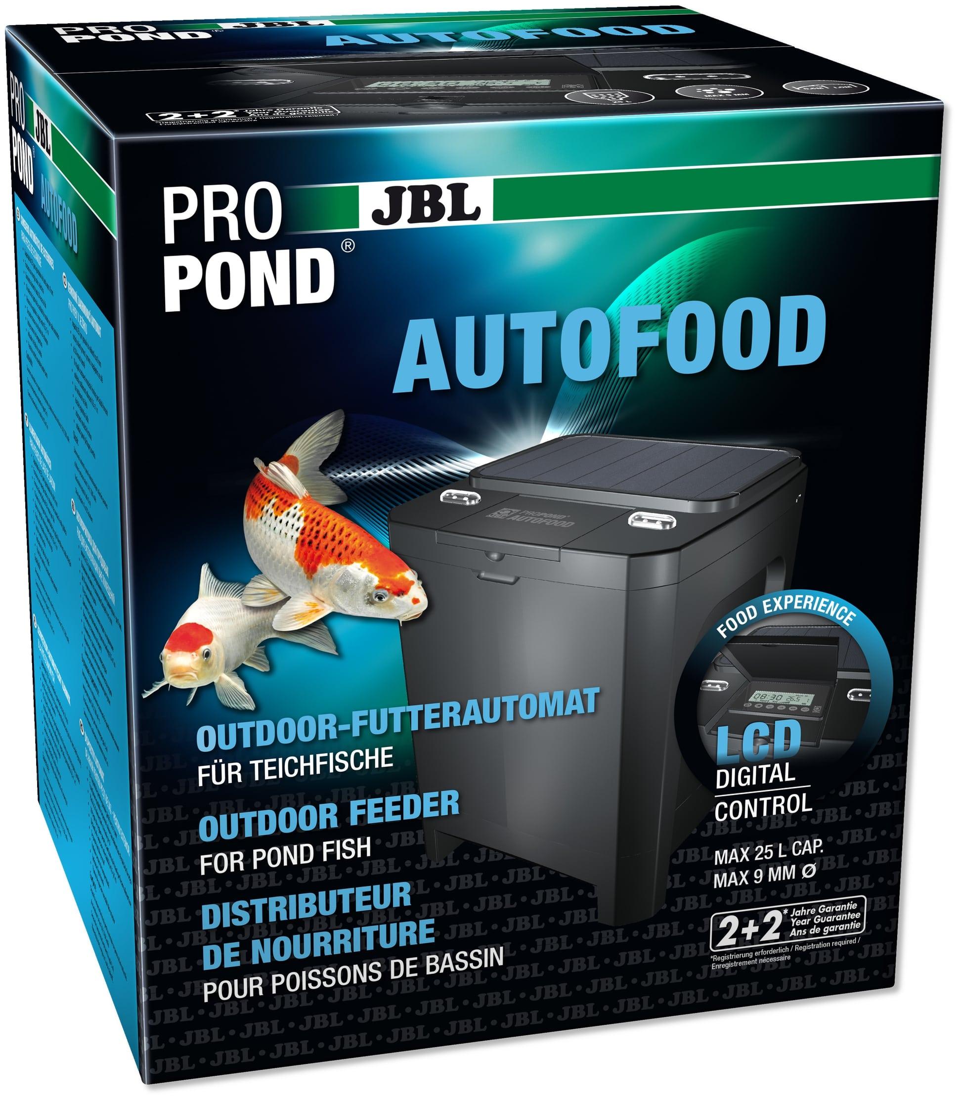 JBL ProPond AutoFood distributeur de nourriture solaire automatique pour bassin de jardin