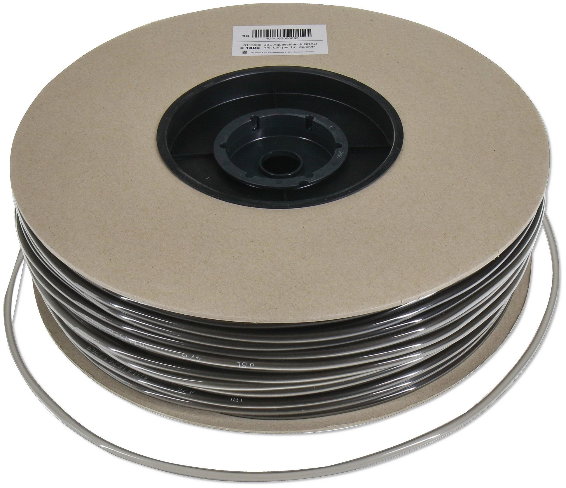 JBL Tuyau gris 4/6 mm pour la circulation d\'eau et d\'air. Vente au mètre