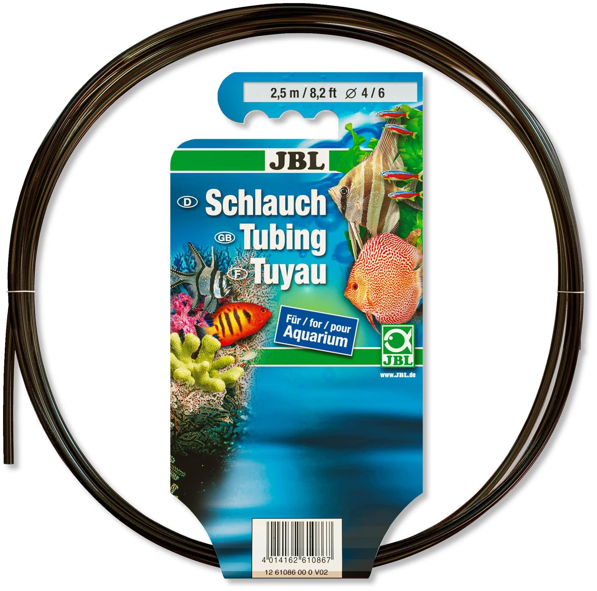 JBL Tuyau gris-transparent 4/6 2,5m anti-algues