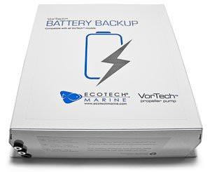 ECOTECH MARINE Batterie de secours en cas de coupure électrique pour toutes les pompes VorTech