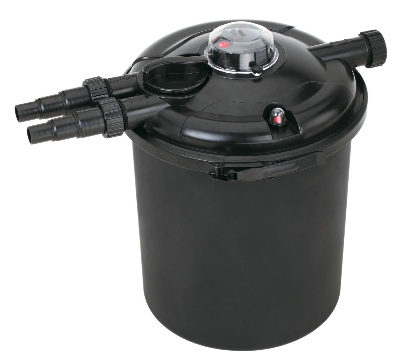 VT Pressure Filter 10000 filtre à pression avec stérilisateur UV-C 18W pour bassin jusqu\'à 10000 L