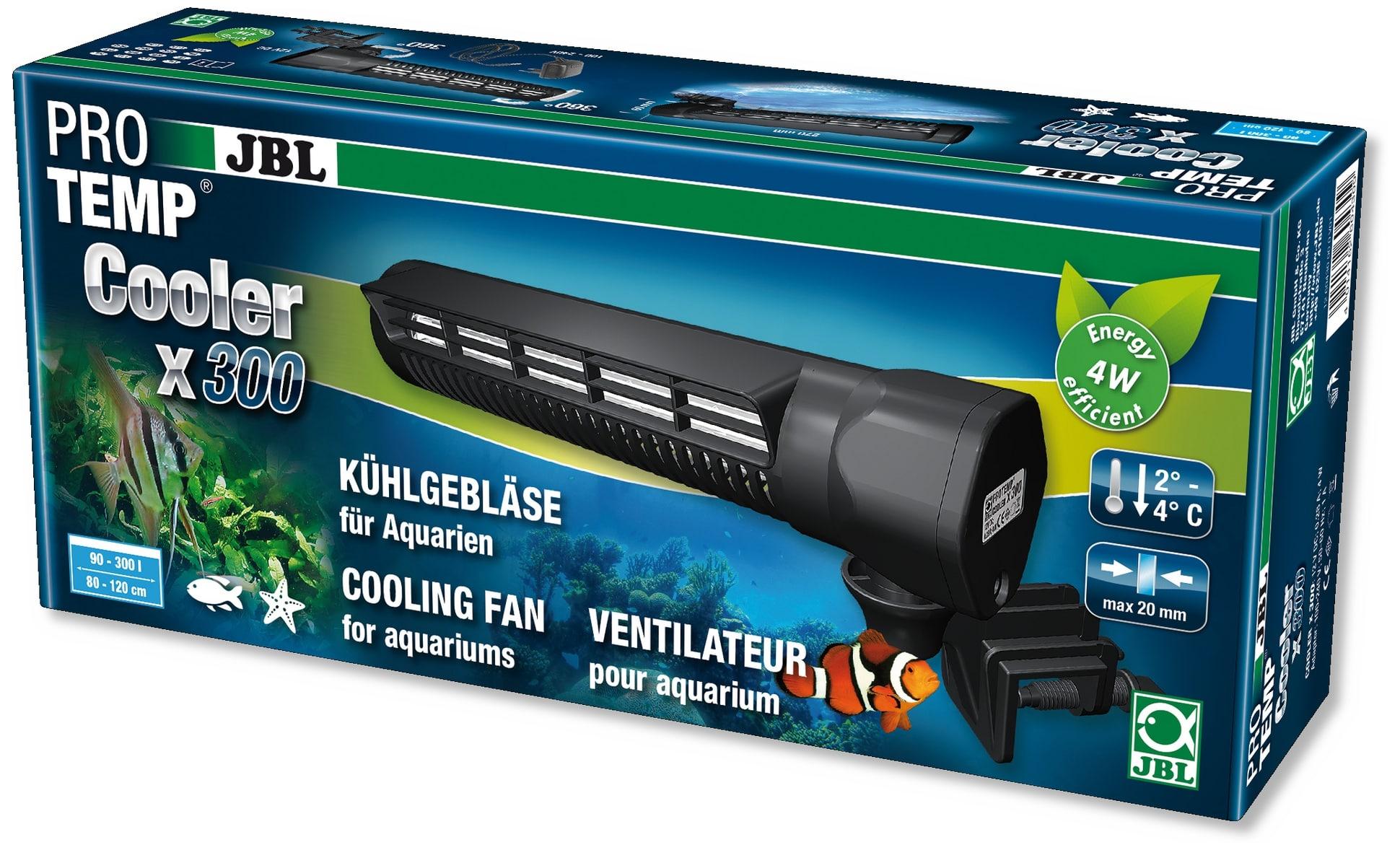 JBL ProTemp Cooler x300 Génération 2 ventilateur pour aquarium de 90 à 300 L
