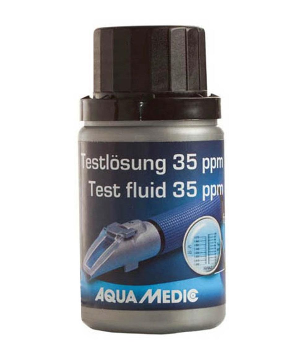 AQUA MEDIC 35 ppm 60 ml solution d\'étalonnage pour réfractomètre toutes marques et pour appareils LF