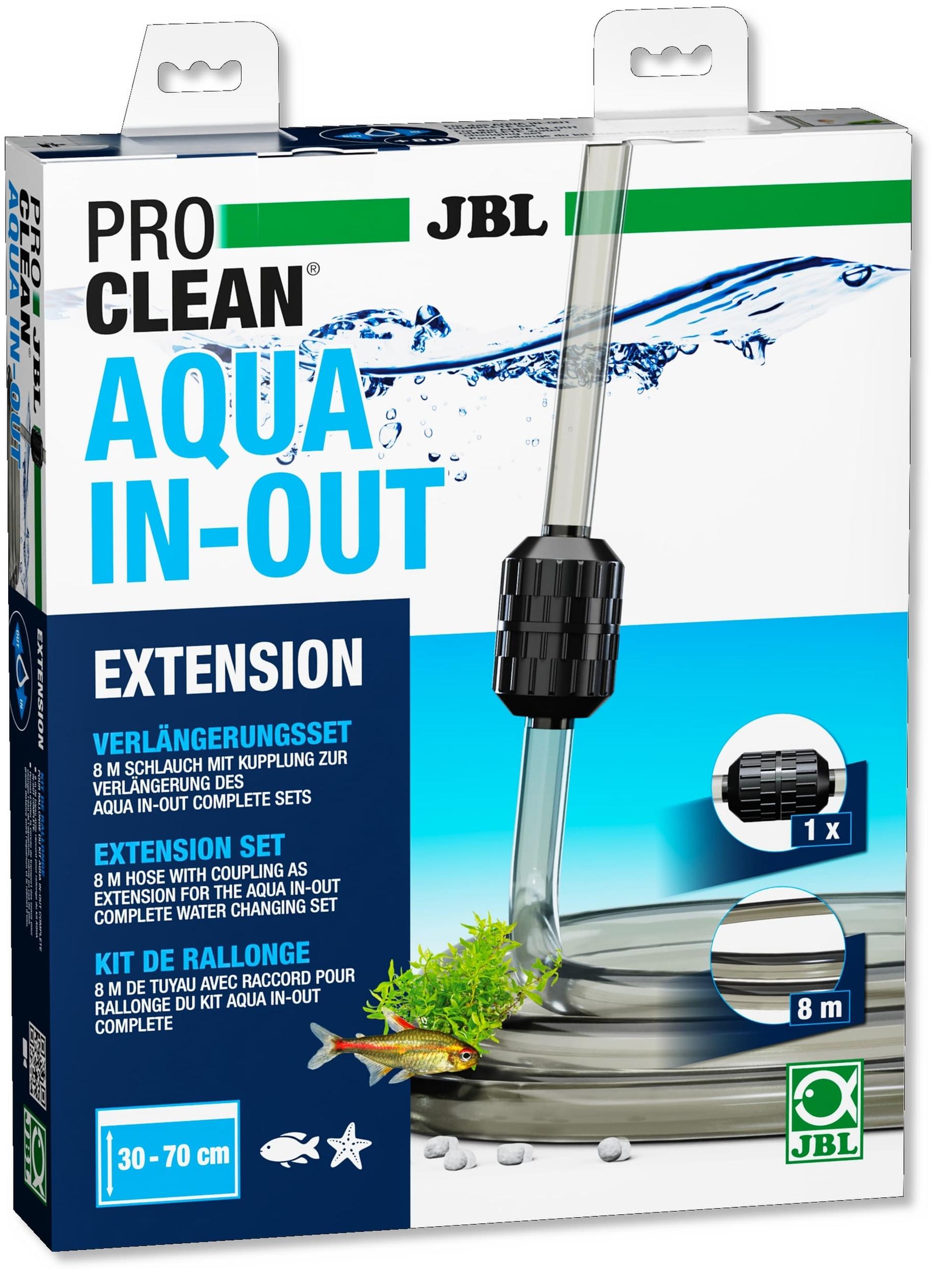 JBL ProClean Aqua In-Out Extension rallonge de 8 m avec raccord pour le set complet ProClean Aqua In-Out