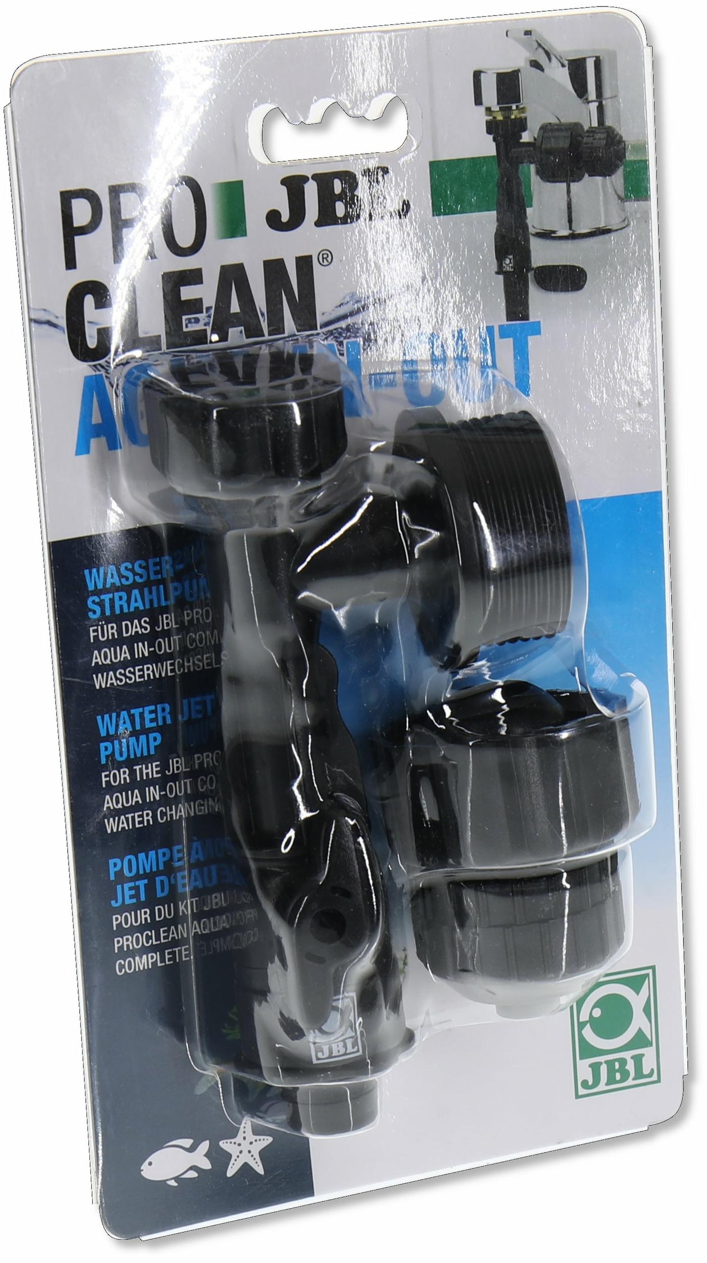 JBL ProClean Aqua In-Out Pompe pour des changements d\'eau et remplissages plus rapide de votre aquarium