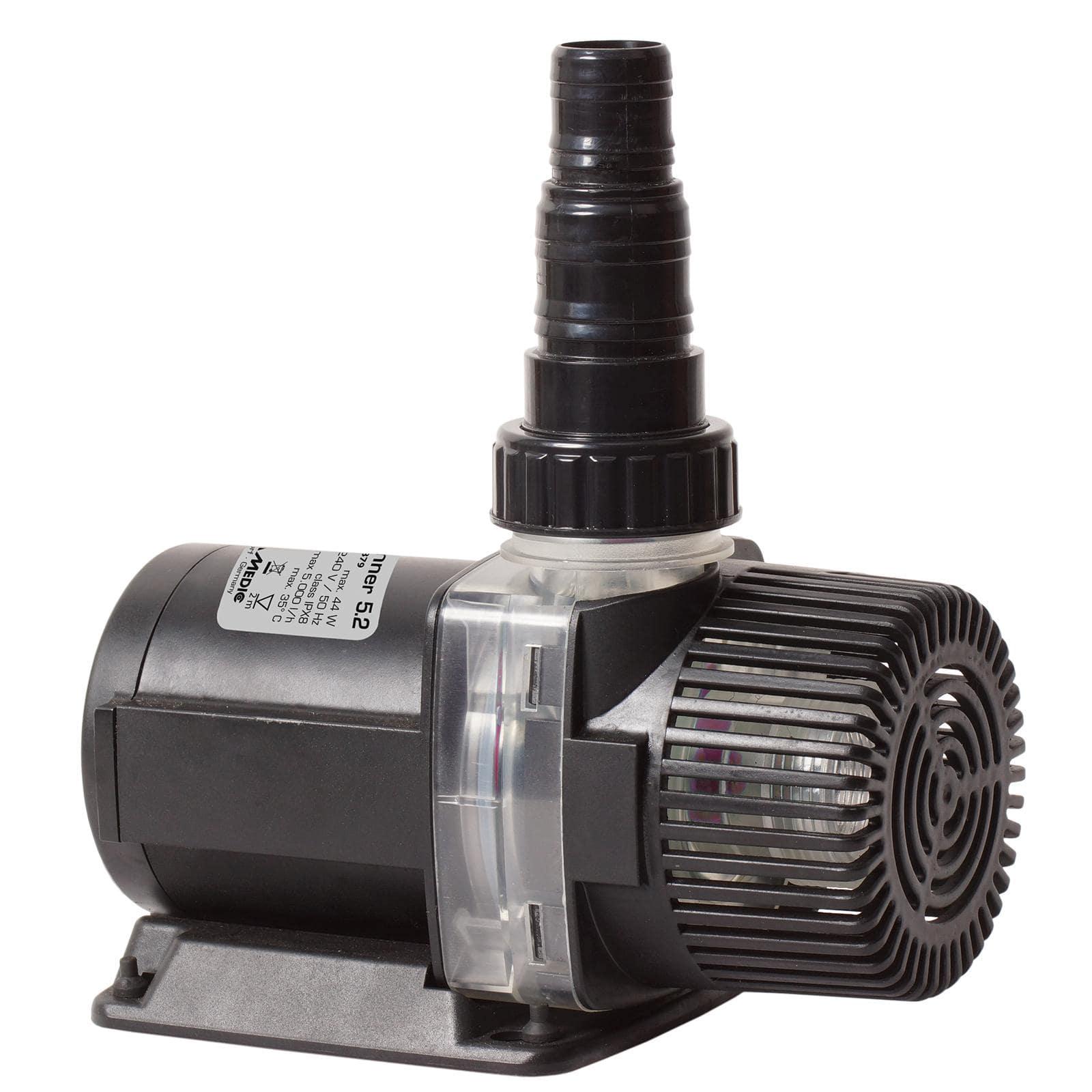 AQUA MEDIC AC Runner 5.2 pompe de relevage 5000 L/h pour aquarium d\'eau douce et d\'eau mer