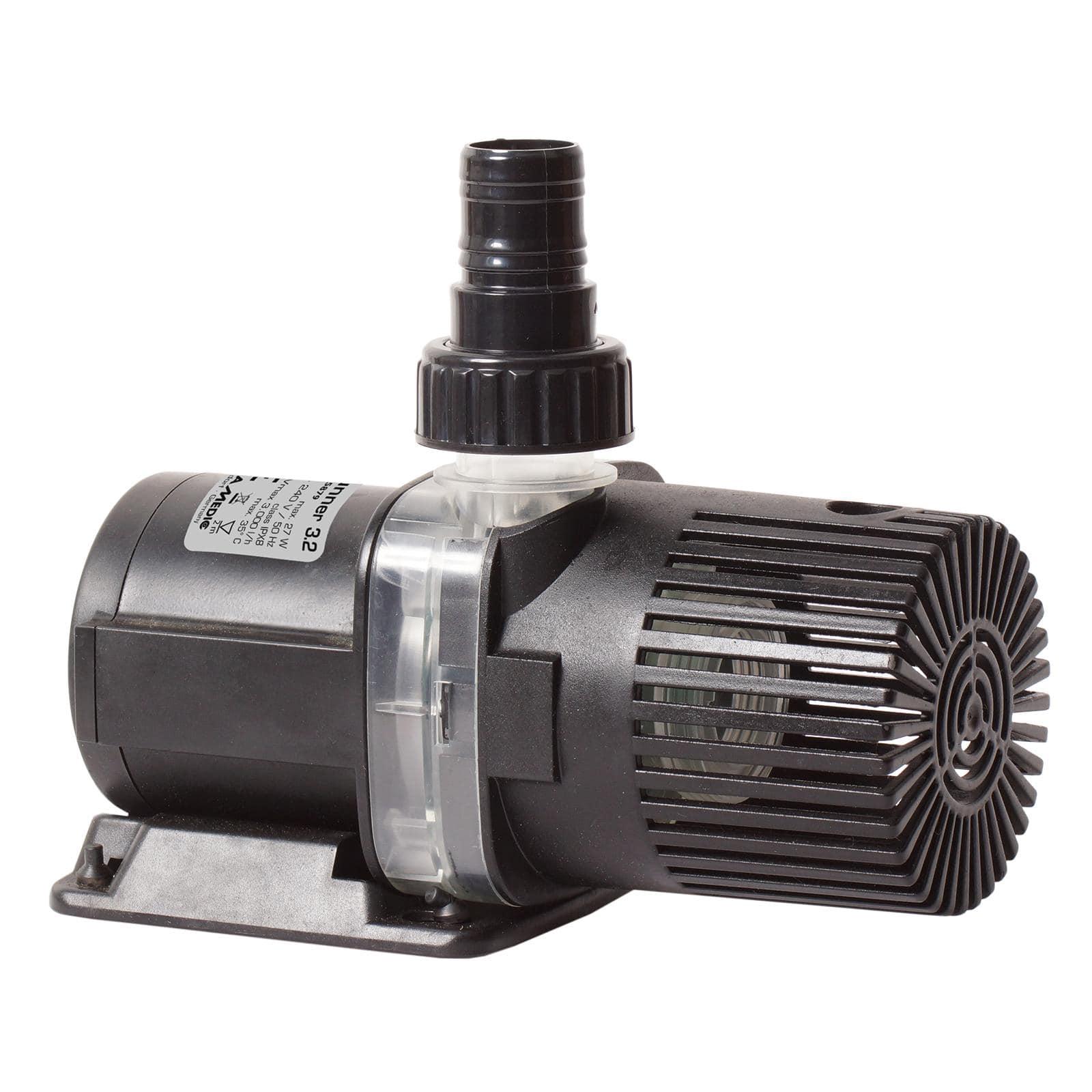 AQUA MEDIC AC Runner 3.2 pompe de relevage 3000 L/h pour aquarium d\'eau douce et d\'eau mer